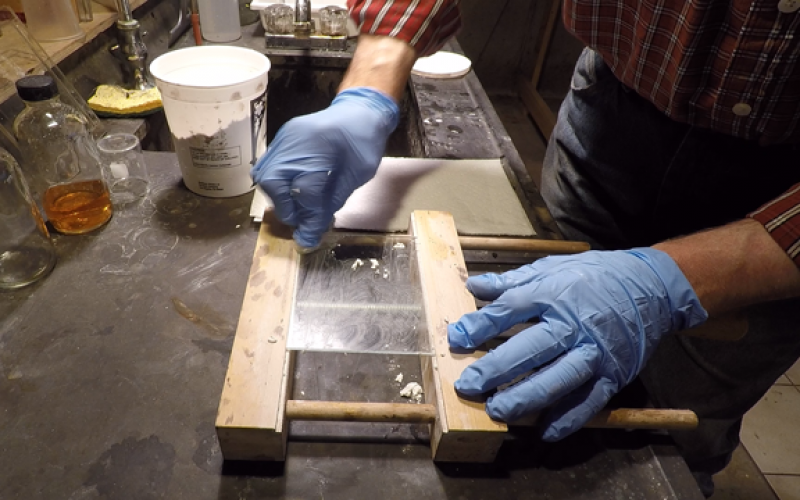 Preparing Glass Plates for Collodion