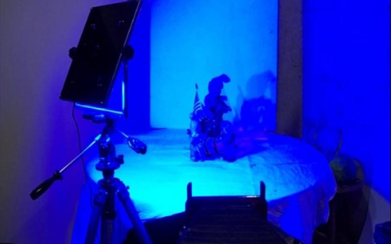 Studio Lighting Comparision for WetPlate