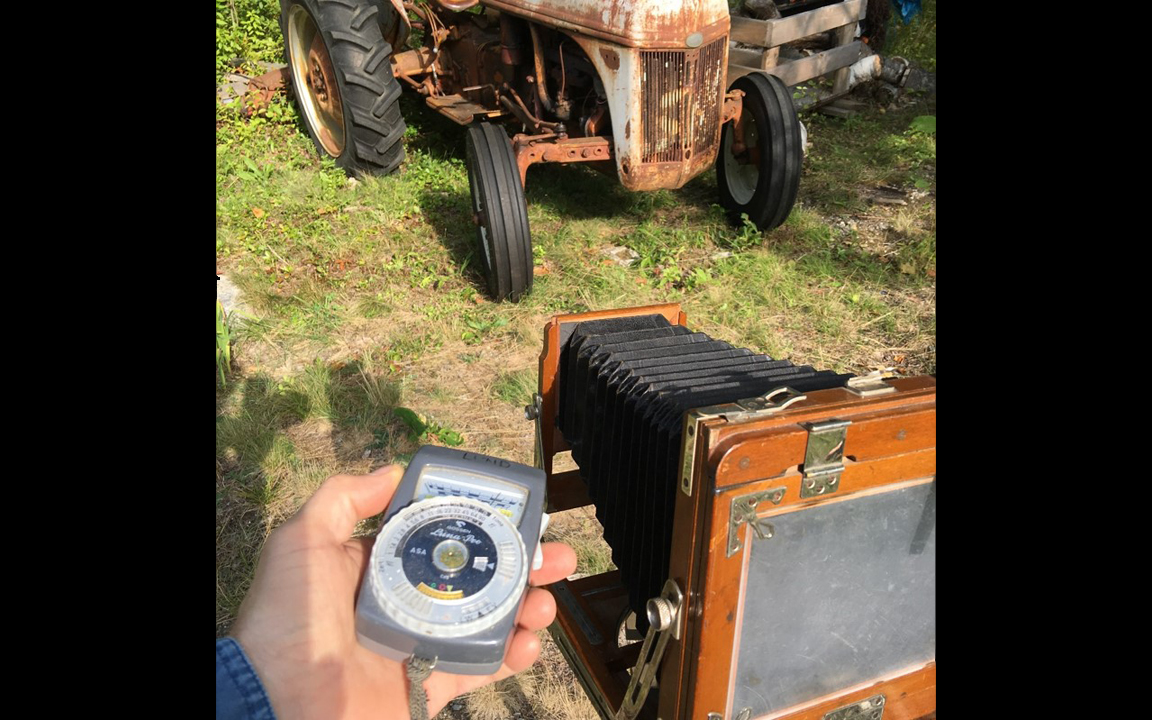 Using a Light Meter with Collodion Film