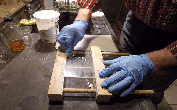 Preparing Glass Plates for Collodion